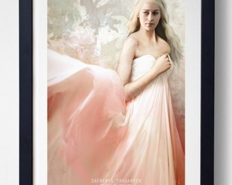 Mother of Dragons - Daenerys Targaryen Print
