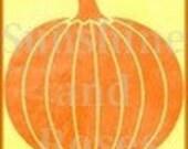 Orange Chevron Fall Pumpkin Banner and Avatar