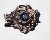 purple and brown butterfly clippy- spring hair accessories- hairclips for girls