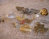 Metal Pins, badges -- military, southwest -- odd lot