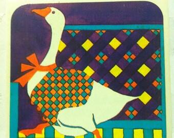 Goose sticker by Animal Parade, vintage 1983