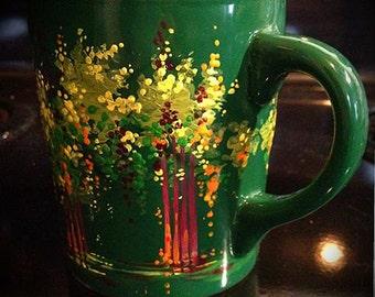 Sunshine - Hand Painted Ceramic Mug