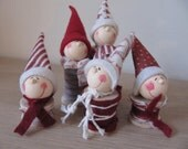 Little gnome choir christmas