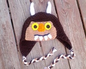 Where The Wild Things Are Inspired Crochet Hat