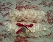 Custom Made Bridal Garter Set
