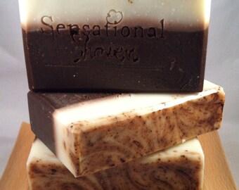 Chocolate Vegan Artisan Soap Bar 5oz