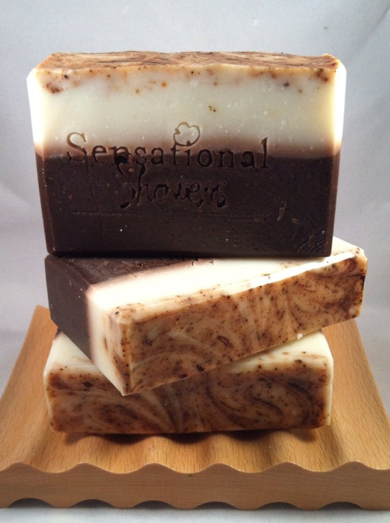 Chocolate Vegan Artisan Soap Bar 5oz