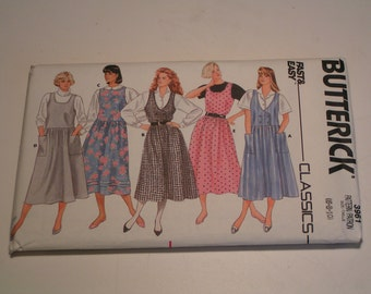 Vintage Butterick Pattern 3961 Miss Jumper