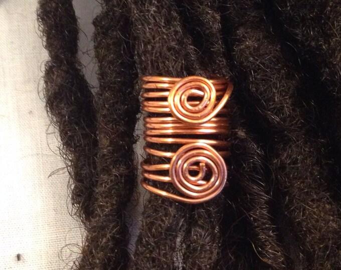 Copper  Dreadlock Bead Accessories