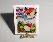 Dollhouse Miniature MOTHER GOOSE BOOK - Mary Russell, Gabriel and Sons - Dollhouse Childrens Nursery Rhymes Book - One Inch Scale Accessory