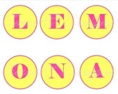 Lemonade Party Banner Printable
