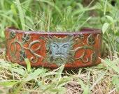 Greenman Leather Cuff Bracelet