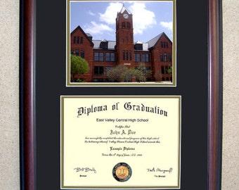 Central Oklahoma Diploma Frame