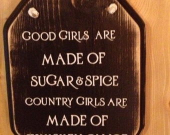 Good Girls and Country Girls