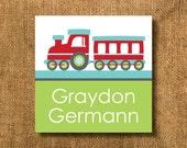 Cute Train Boy Gift Tags or Calling Cards, Boy Gift Tags, Train Gift Tags