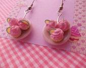cupcakes earrings, fantasia