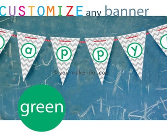 green banner party printables birthday banner green baby shower banner 1st birthday green baby shower banner green garland banner with name