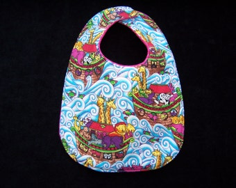 Baby Bib Noah's Ark Two by Two, BB041