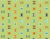 SALE - ACACIA by Tula Pink for FreeSpirit Fabrics - Arrowheads (Lime) - 1 Yard - Quilting Weight Cotton Fabric