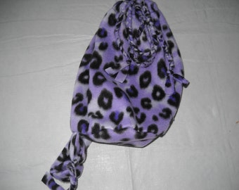 Cheetah Print BACKPACK in Purple with one strap for convenence