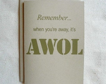 Love Card Remember... when you're away,