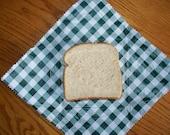 REUSABLE SANDWICH WRAP/placemat 10 X 10