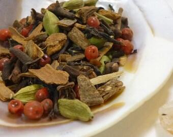 1 oz  Firebird's Child Chai -  Black Tea - loose leaf tea
