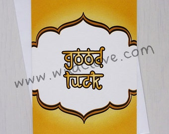 Occasion Wallah Cards - Good Luck