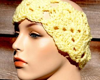 Magic Motif Crochet Headband Pattern