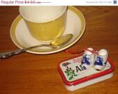Moving Sale Dutch Blue Delft Clogs mini mini mini....very Cute