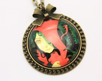 Necklace Little Red Riding Hood 2525C