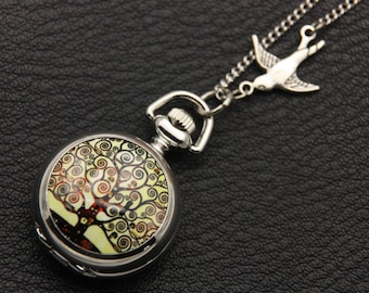 Necklace Pocket tree of life (2222m)