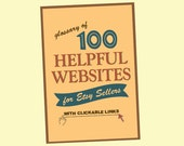 Etsy Guide - 100 Helpful Websites for Etsy Sellers