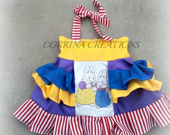 Max and Ruby, OTT, Pageant, OOC, Boutique Style size Ruffle dress NB 3  6 9 12 24 months, size 2 3 4 5T