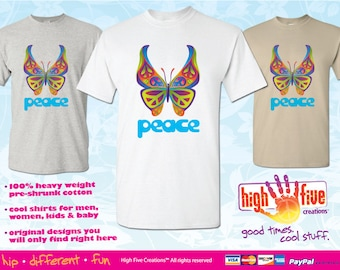 Peace T-Shirt / Peace Butterfly