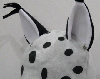 Lynx Fleece Hat - NATURAL COLORS