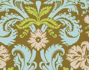 Amy Butler Belle - 1 yard Acanthus in Olive - Rowan Westminster Fabrics - PWAB109