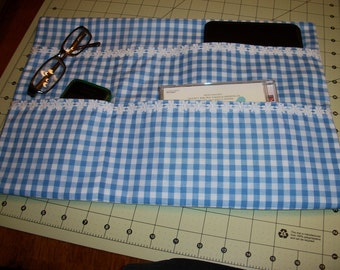 GENTILLY  GIRL--Gingham with Daisy Trim