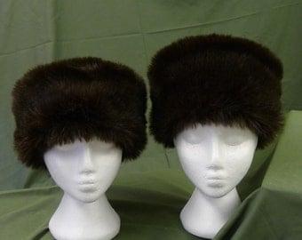 Faux Fur Adjustable Russian/Cossack Hat