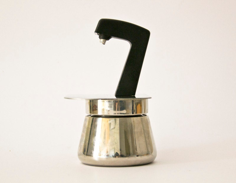 Italian Coffee Maker Gb : Vintage Italian coffee maker Stovetop Luxa 2 cups by ilivevintage