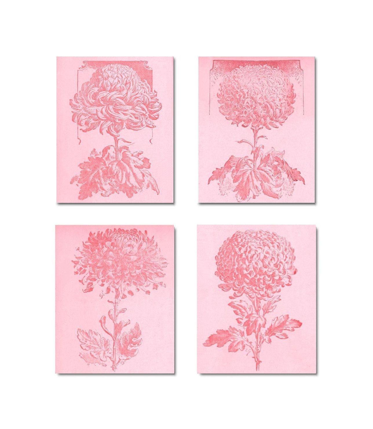 shabby chic nursery pink flowers girl nursery by handpainting. Black Bedroom Furniture Sets. Home Design Ideas