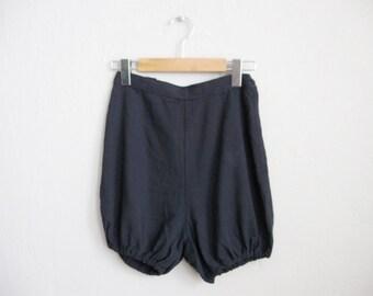 1950s Vintage Shorts High Waist Shorts 50s Tap Pants / Small XS