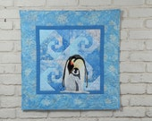"""Penguin Wall Quilt Pattern """"My Little Darling"""""""