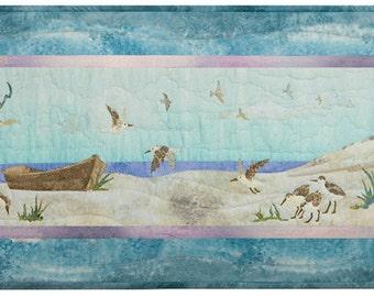 McKenna Ryan Quilt Pattern Beach Walk Old Boat Birds of a Feather Block 3