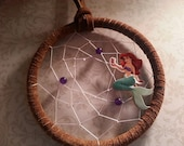 Little Mermaid Dream Catcher (Handmade by Native American)