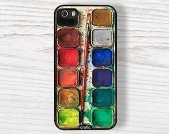 Watercolor Set iPhone IPHONE CASE  iPhone 6S case iPhone 6 Plus iPhone 5S cases iPhone 5C cover, iPhone 7 case