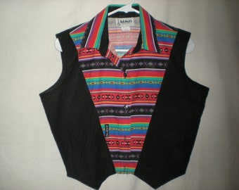 southwestern sleeveless shirt size medium