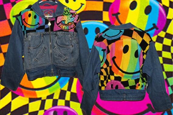 90s LISA FRANK rare denim jacket