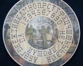 "FREE SHIPPING Ouija board  - Spiritistic board - Talking board ""The old cemetery"""