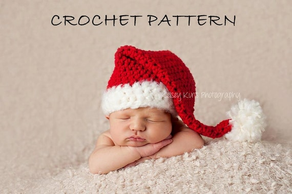 Free Crochet Pattern Christmas Baby Hat : Gallery For > Crochet Christmas Hats Pattern